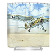 Desert Storch Shower Curtain
