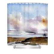 Desert Storm Shower Curtain