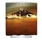Desert Storm Shower Curtain