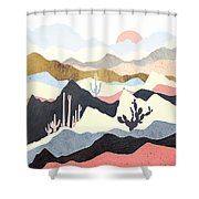 Desert Summer Shower Curtain