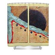 Desert Sun I Shower Curtain