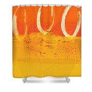 Desert Sun Shower Curtain by Linda Woods