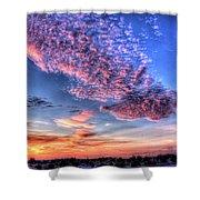 Desert Sunset 2 Shower Curtain