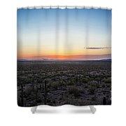 Desert Sunset #5 Shower Curtain
