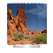 Desert Tower Valley Of Fire Shower Curtain