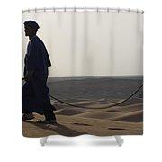 Desert Trek, Sahara Desert Shower Curtain