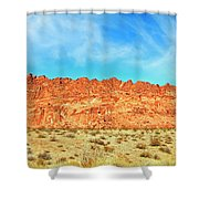 Desert Valley Of Fire Shower Curtain