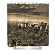 Desert View - Anselized Shower Curtain