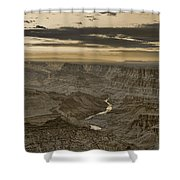 Desert View II - Anselized Shower Curtain