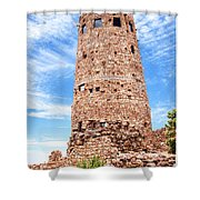 Desert View Tower, Grand Canyon Shower Curtain