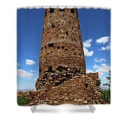 Desert View Watchtower At Grand Canyon Shower Curtain