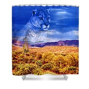 Desert Visions Shower Curtain