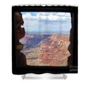 Desert Watchtower View Grand Canyon  Shower Curtain