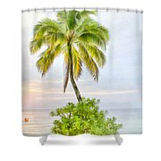 Deserted Beach Tioman Shower Curtain