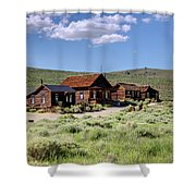 Deserted Dwellings Shower Curtain