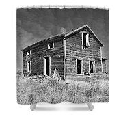 Deserted Home On The Range Shower Curtain