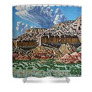 Ghost Ranch New Mexico Shower Curtain