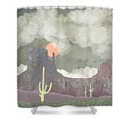 Desertscape Shower Curtain