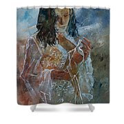 Deshabille 67 Shower Curtain