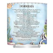 Desiderata 10 Shower Curtain