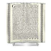 Desiderata 16 Shower Curtain