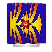 Design 2 Shower Curtain
