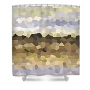 Design 87 Shower Curtain