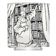 Design For The Cover Of Pierrot Shower Curtain