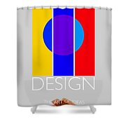 Design Poster Shower Curtain