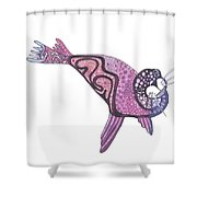 Design Seal Shower Curtain