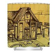 Design Sketch  Shower Curtain