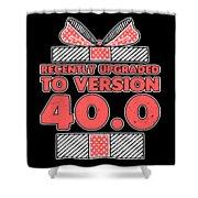 designcandy180418RecentlyUpgradedToVersion404 Shower Curtain