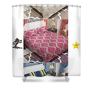 Designer Bed Sheet To Decor Home Shower Curtain