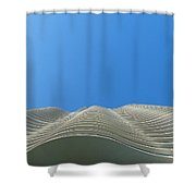 Designer Waves Shower Curtain