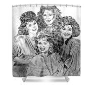 Designing Women Shower Curtain