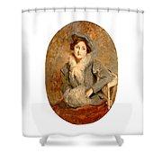 Desiree Manfred Shower Curtain