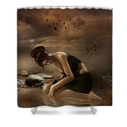Desolation Shower Curtain by Mary Hood