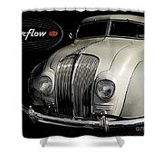 Desoto Airflow Shower Curtain