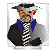 Desperado Shower Curtain