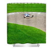 Desperate Golfer Shower Curtain