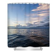 Destin High Tide Shower Curtain