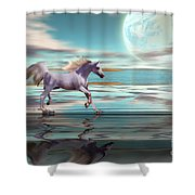 Destiny Shower Curtain by Corey Ford