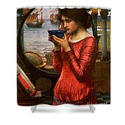 Destiny Shower Curtain by John William Waterhouse