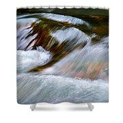 Detail Cascade Fall River Shower Curtain
