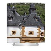 Detail Of Burg Pfalzgrafenstein Shower Curtain