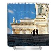 Detail Of Helsinki Cathedral Shower Curtain