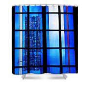 Detail Of Modern Johannes Schreiter Window Mainz 1 Shower Curtain