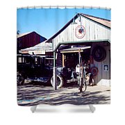 Detail Of Very Cool Old Black Truck 3 Shower Curtain
