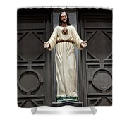 Detail San Juan Capistrano Shower Curtain