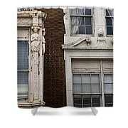 Details Of The Patrick Henry Hotel Roanoke Virginia Shower Curtain